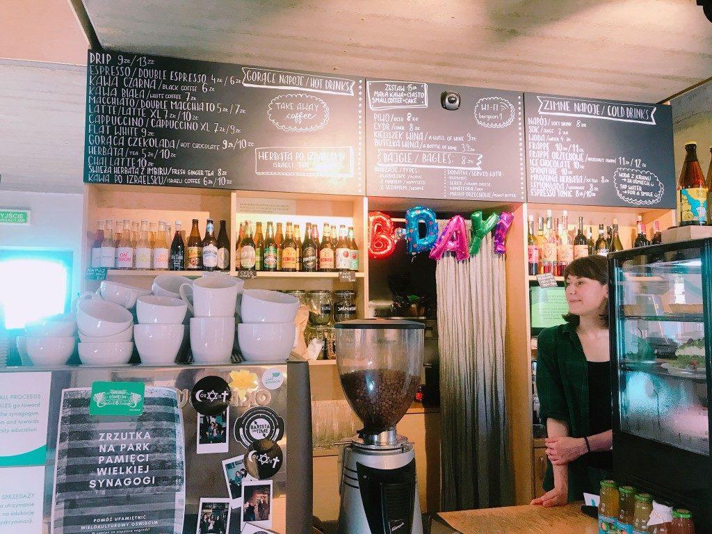 ポーランドのカフェの写真